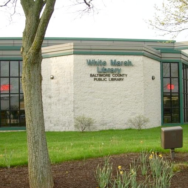 Install new 25-ton heat pump and a 7.5-ton heat pump with new thermostats at White Marsh Library